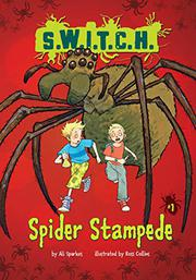 Book Cover for SPIDER STAMPEDE