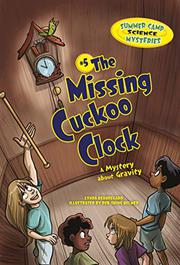 Cover art for THE MISSING CUCKOO CLOCK