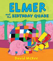 Book Cover for ELMER AND THE BIRTHDAY QUAKE