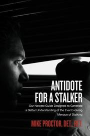 Book Cover for ANTIDOTE FOR A STALKER
