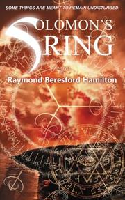 Book Cover for SOLOMON'S RING