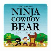 Cover art for THE LEGEND OF NINJA COWBOY BEAR
