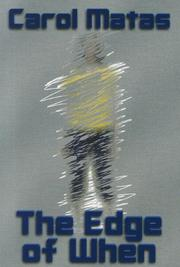 Cover art for THE EDGE OF WHEN