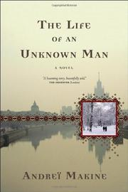 Cover art for THE LIFE OF AN UNKNOWN MAN