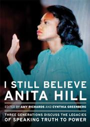 Book Cover for I STILL BELIEVE ANITA HILL