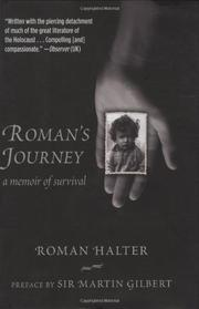 Cover art for ROMAN'S JOURNEY