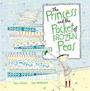 Cover art for THE PRINCESS AND THE PACKET OF FROZEN PEAS