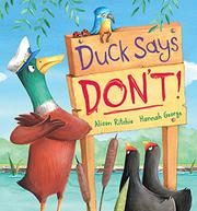 Book Cover for DUCK SAYS DON'T!