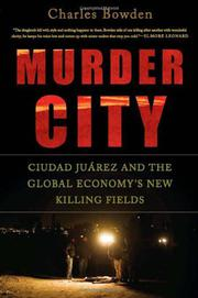 Cover art for MURDER CITY