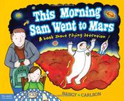 Cover art for THIS MORNING SAM WENT TO MARS