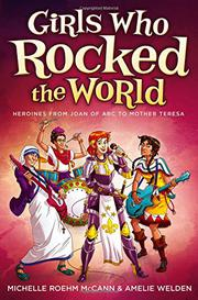 Cover art for GIRLS WHO ROCKED THE WORLD