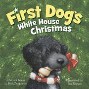 Cover art for FIRST DOG'S WHITE HOUSE CHRISTMAS