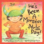 Book Cover for HE'S BEEN A MONSTER ALL DAY!