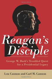 Cover art for REAGAN'S DISCIPLE