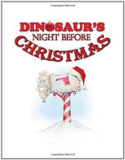 Cover art for DINOSAUR'S NIGHT BEFORE CHRISTMAS