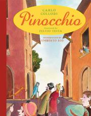 Book Cover for PINOCCHIO