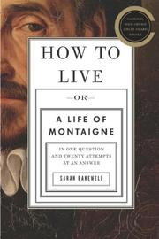 Book Cover for HOW TO LIVE