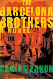 Book Cover for THE BARCELONA BROTHERS
