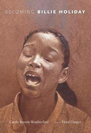 Cover art for BECOMING BILLIE HOLIDAY