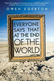 Cover art for EVERYONE SAYS THAT AT THE END OF THE WORLD
