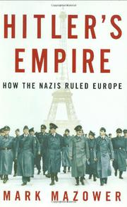 Book Cover for HITLER'S EMPIRE