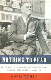 Cover art for NOTHING TO FEAR