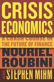Book Cover for CRISIS ECONOMICS