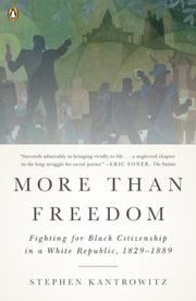 Book Cover for MORE THAN FREEDOM