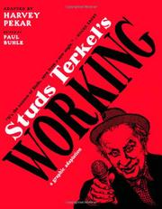 Cover art for STUDS TERKEL'S WORKING