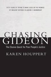 Cover art for CHASING GIDEON