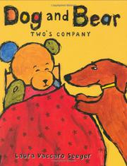Book Cover for DOG AND BEAR