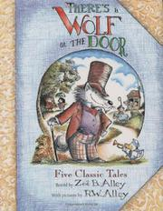 Book Cover for THERE'S A WOLF AT THE DOOR