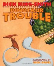 Book Cover for DINOSAUR TROUBLE