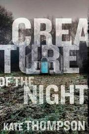 Cover art for CREATURE OF THE NIGHT