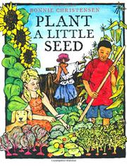 Book Cover for PLANT A LITTLE SEED