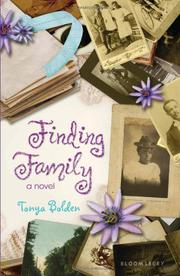 Book Cover for FINDING FAMILY