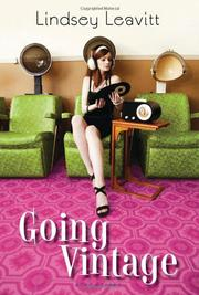Book Cover for GOING VINTAGE