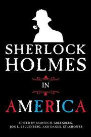 Cover art for SHERLOCK HOLMES IN AMERICA
