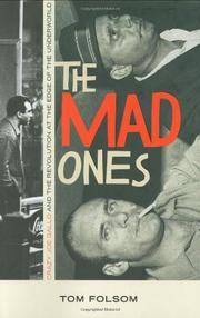 Cover art for THE MAD ONES