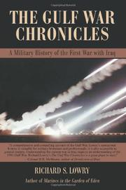 Cover art for THE GULF WAR CHRONICLES