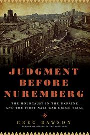 Cover art for JUDGMENT BEFORE NUREMBERG
