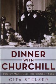 Book Cover for DINNER WITH CHURCHILL