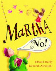 Book Cover for MARTHA, NO!