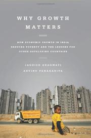 Book Cover for WHY GROWTH MATTERS
