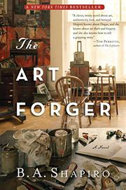 Cover art for THE ART FORGER