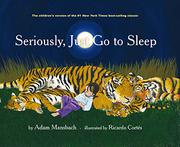 Book Cover for SERIOUSLY, JUST GO TO SLEEP