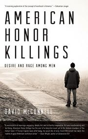 Book Cover for AMERICAN HONOR KILLINGS