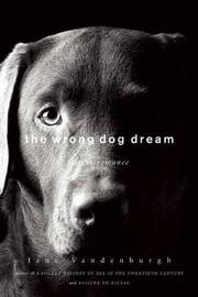 Cover art for THE WRONG DOG DREAM