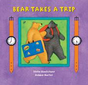 Cover art for BEAR TAKES A TRIP