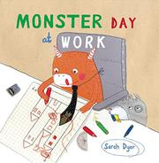 Book Cover for MONSTER DAY AT WORK
